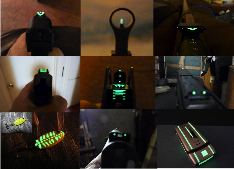 Affordable night sights - Sponsor Display