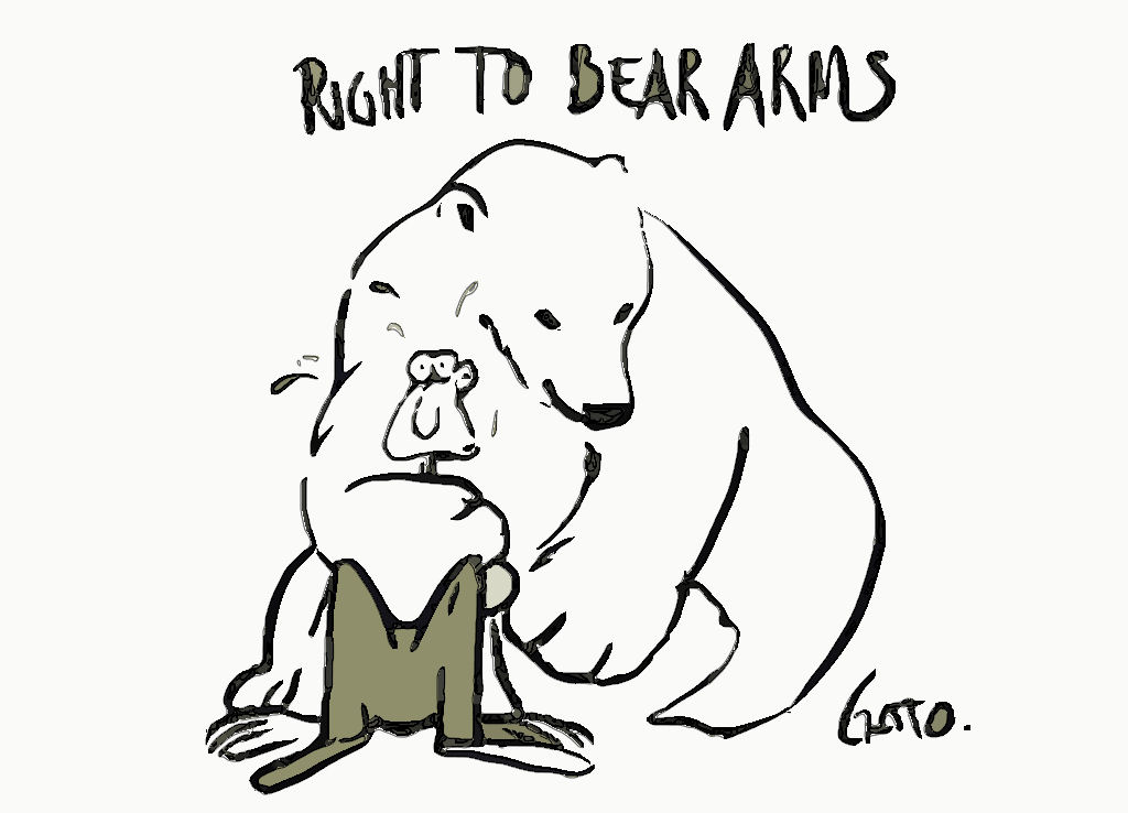 Right to bear arms too much for some - The Club House